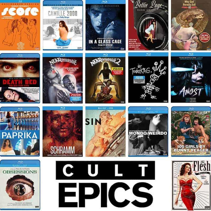 Cult Epics Blu-ray sale