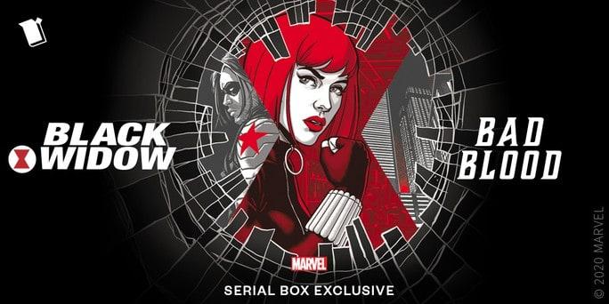 Black Widow Bad Blood Serial Box Loot Crate