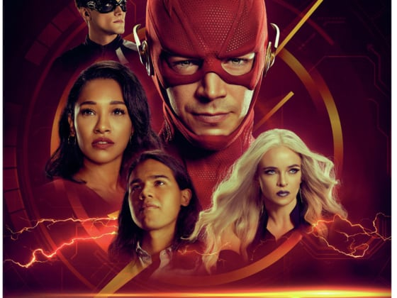 The Flash Season 6 Box art Blu-ray