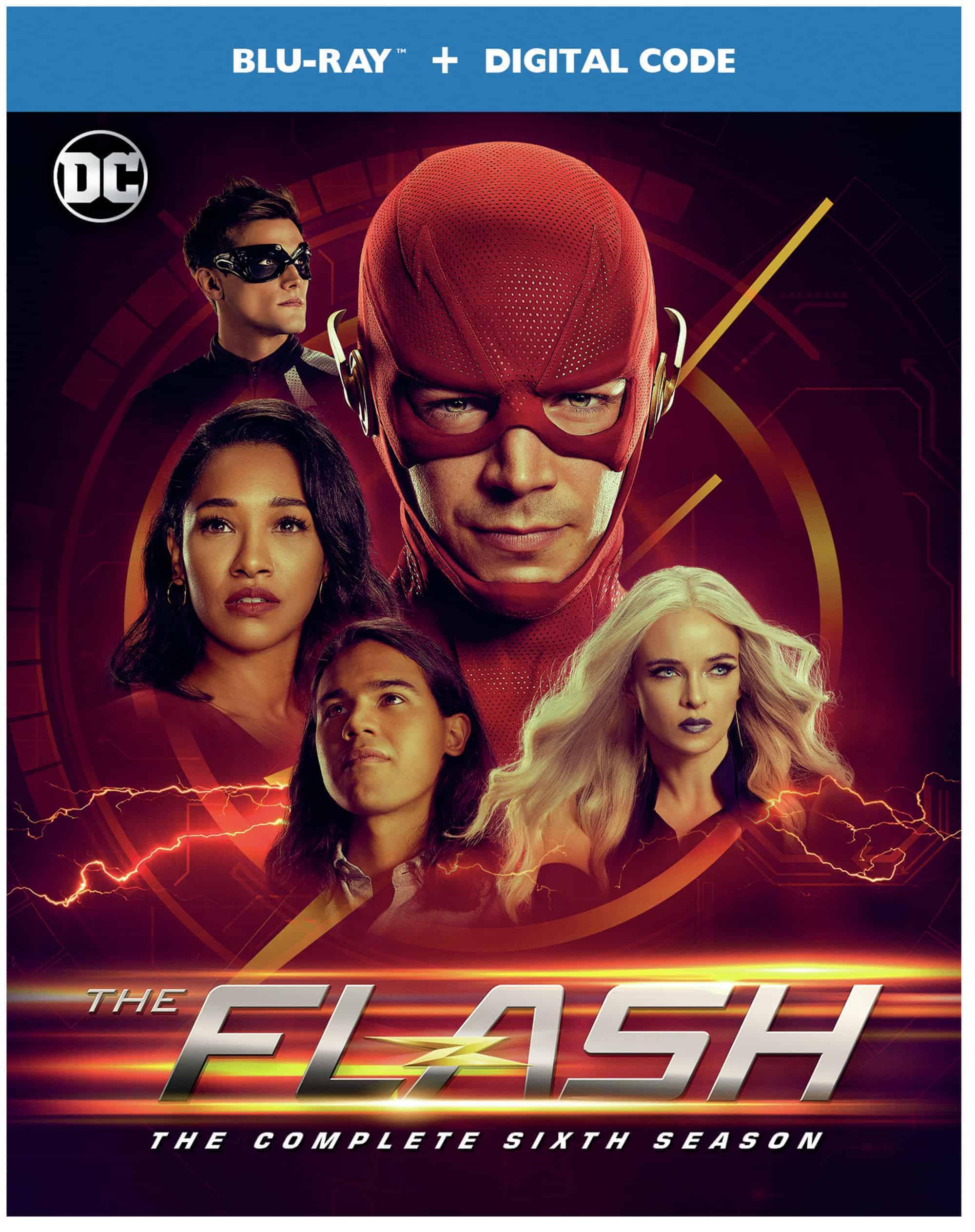 The Flash Season 6 Box art Blu-ray