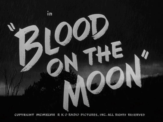 blood on the moon title
