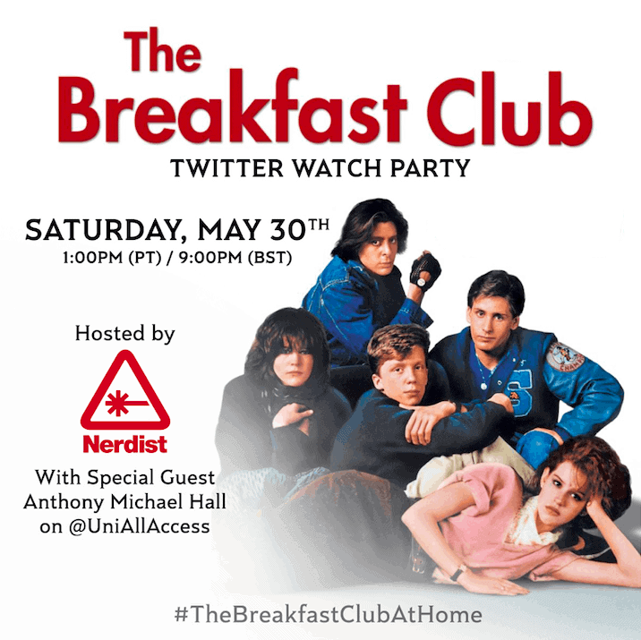 Breakfast Club May 2020 Viewing Party