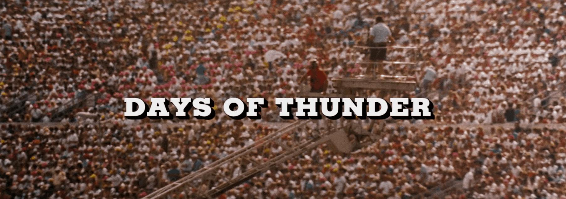Days of Thunder 4K Ultra HD logo