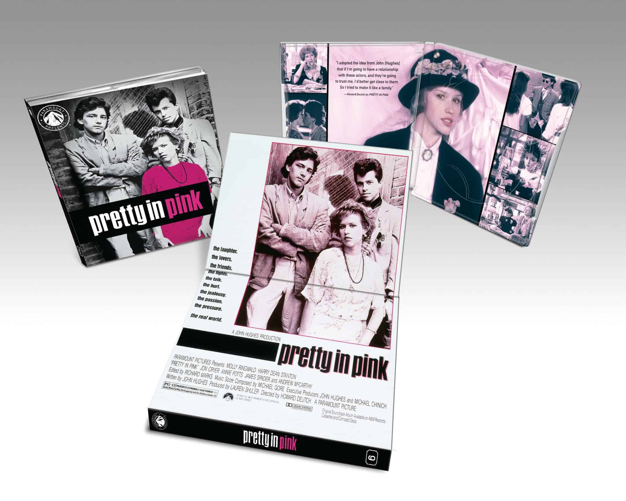 Pretty in Pink blu-ray home entertainment