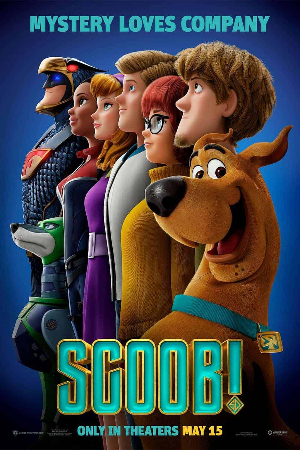 Scoob in theaters poster