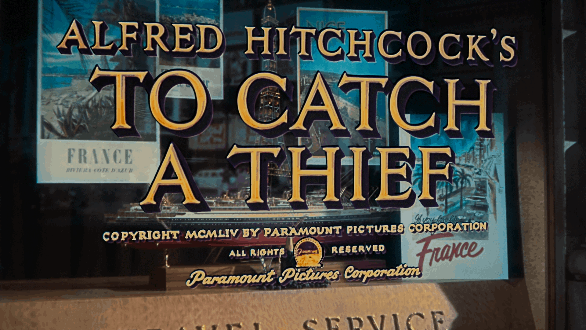 to catch a thief title