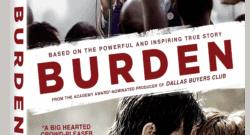 Burden DVD box art