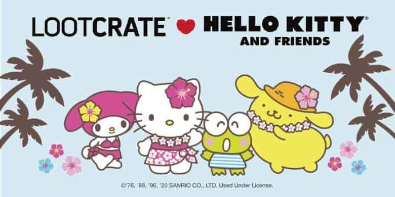 june hello kitty sanrio lootcrate