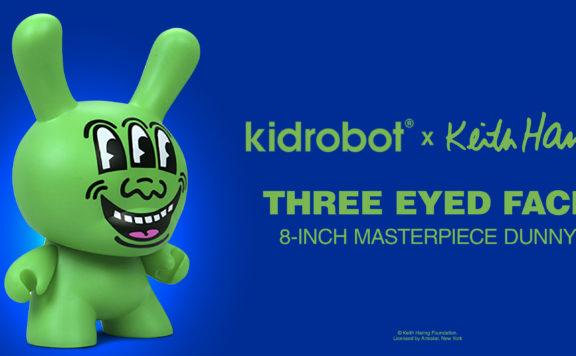 Keith Haring Three Eyed Dunny KidRobot