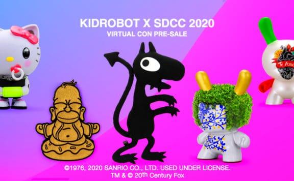 Kidrobot Virtual Con SDCC 2020