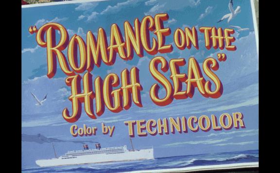 ROMANCE ON THE HIGH SEAS TITLE