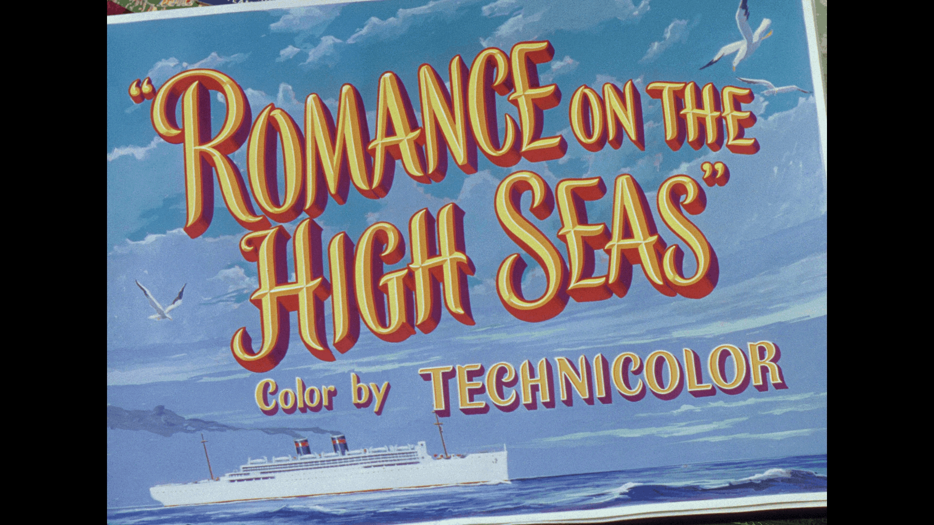 ROMANCE ON THE HIGH SEAS TITLE