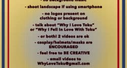 how to enter let's talk toku contest