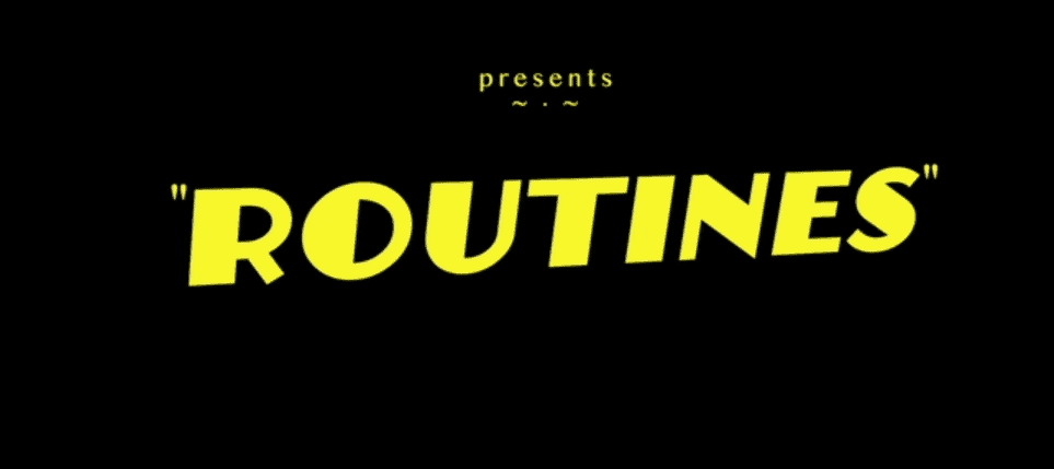 routines title