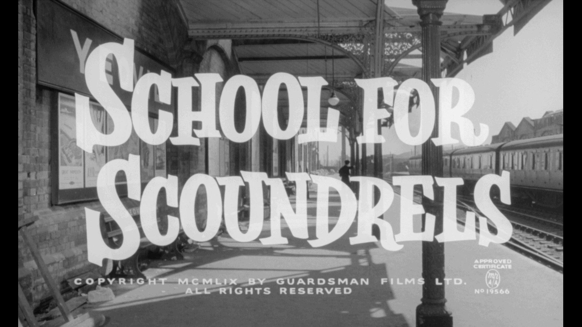 school for scoundrels title alastair sim's school for laughter blu-ray title