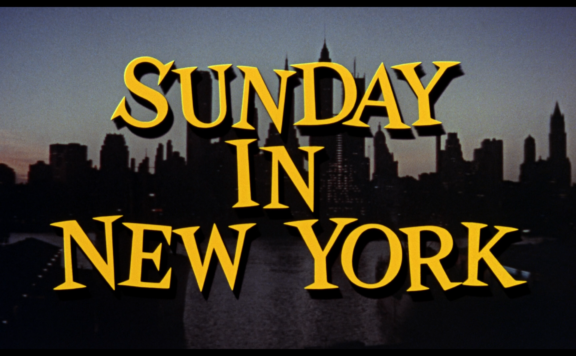 sunday in new york title
