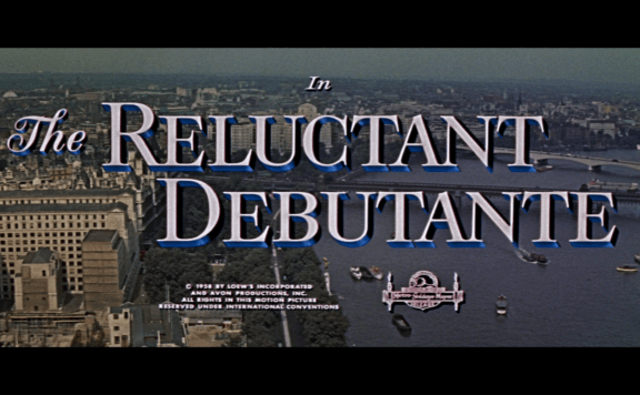the reluctant debutante title