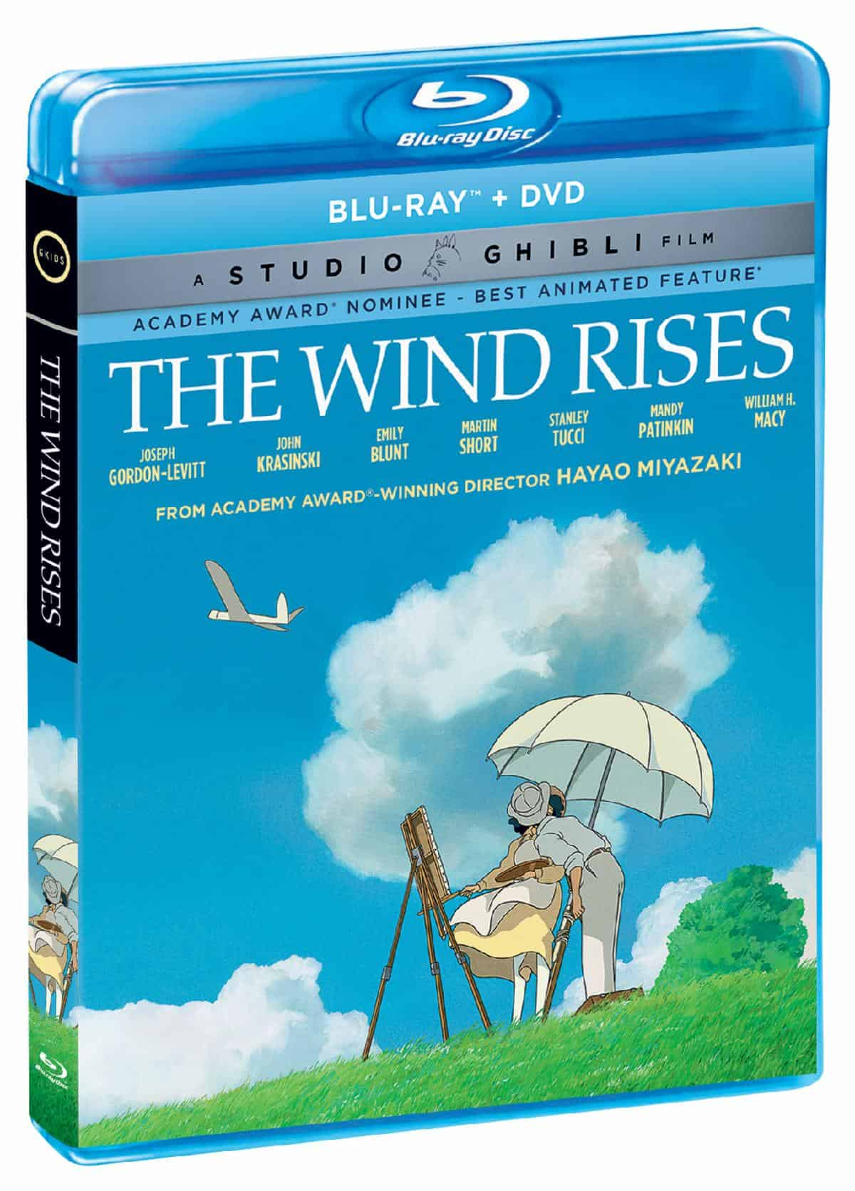 Studio Ghibli Feature 'The Wind Rises' on Blu-ray, DVD and Digital this September from GKIDS, Shout! Factory 2