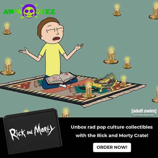 Aww Geez, Another Ricky and Morty Loot Crate! 2