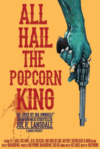 all hail the popcorn king putting on