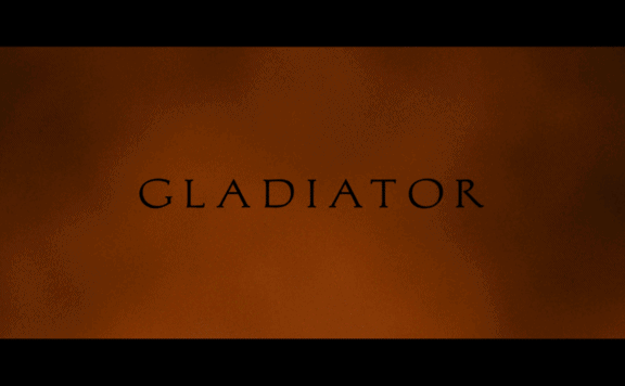 gladiator 4K UHD title