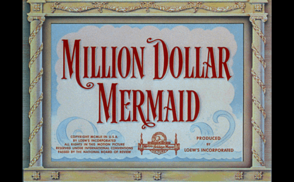 million dollar mermaid title