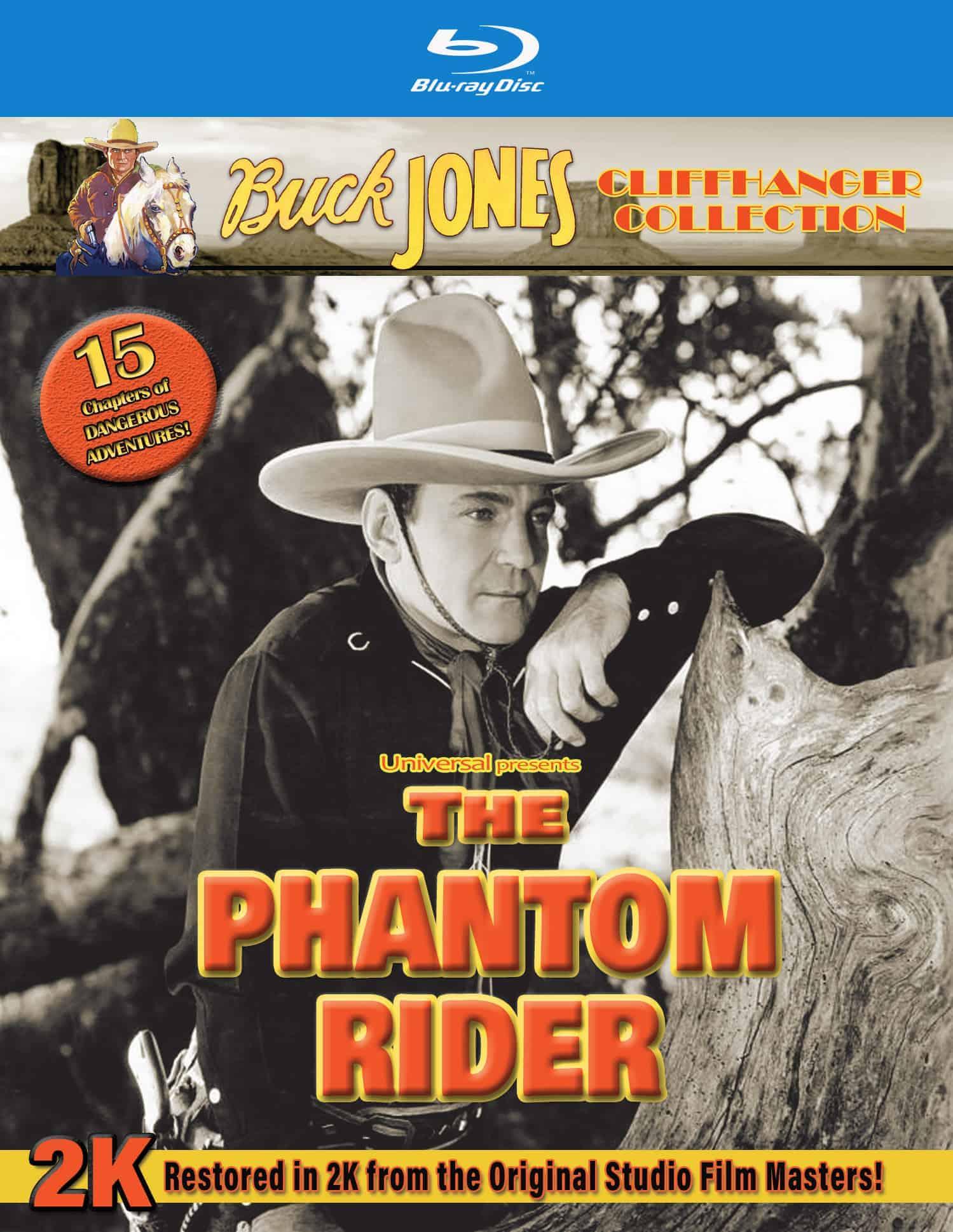 Phantom Rider blu ray
