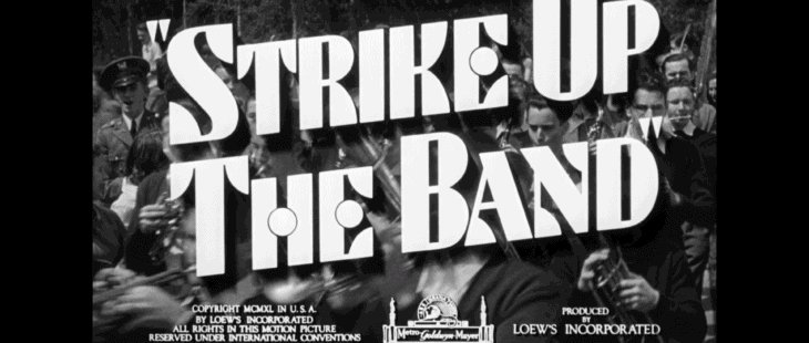 strike up the band title