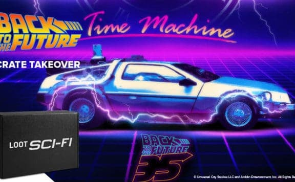 Back to the Future 35 Loot Crate