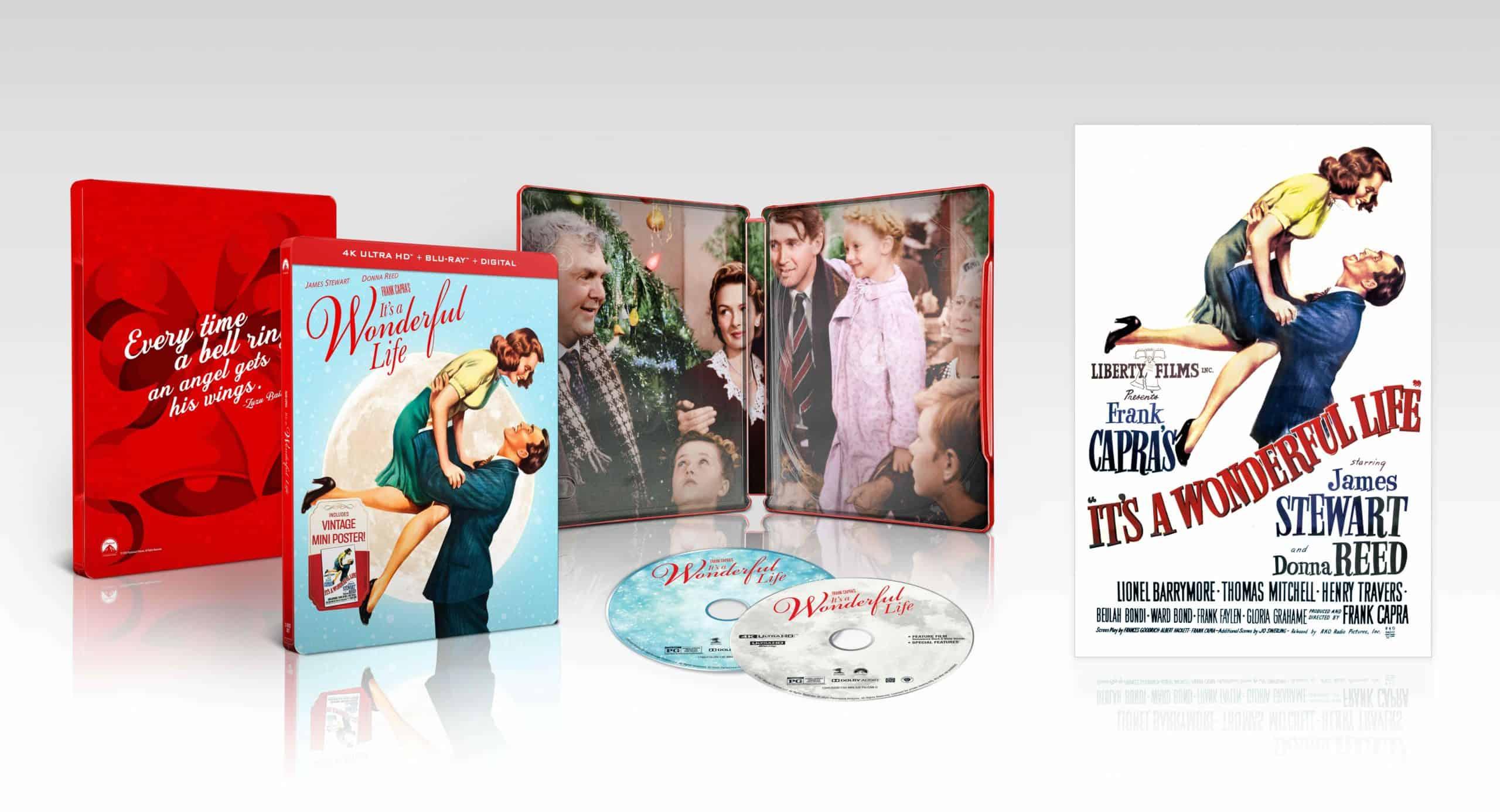 It's a Wonderful Life 4K Blu-ray steelbook