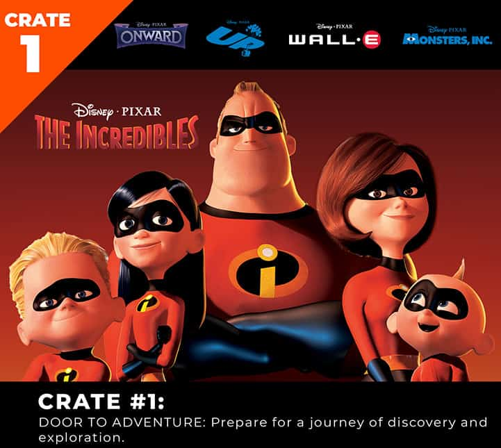 Loot Crate and Pixar Introduce the Pixar Limited Edition Series! 2