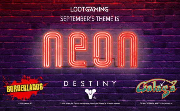neon destiny loot crate
