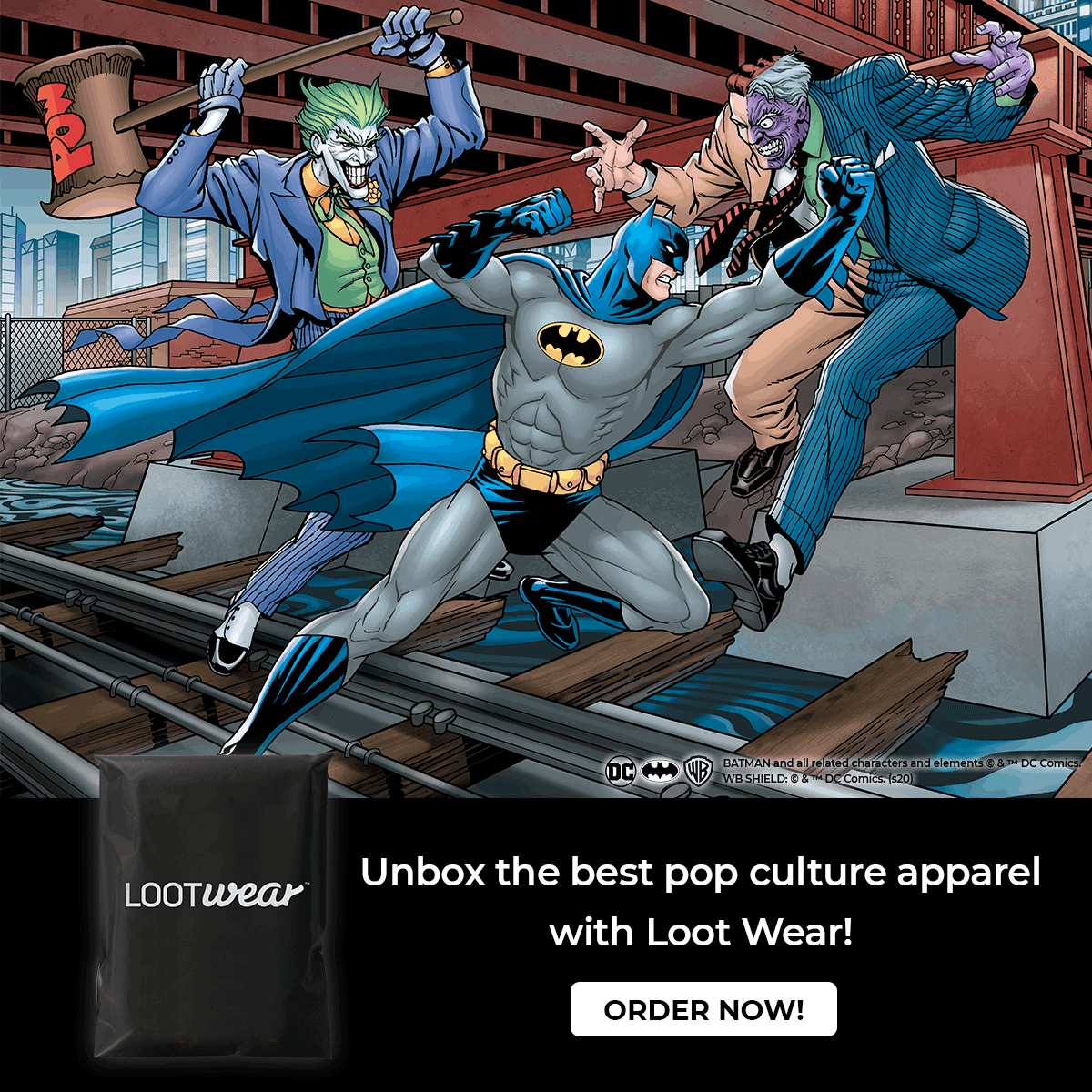 Head Bat to School with the September Loot Wear Line! 2