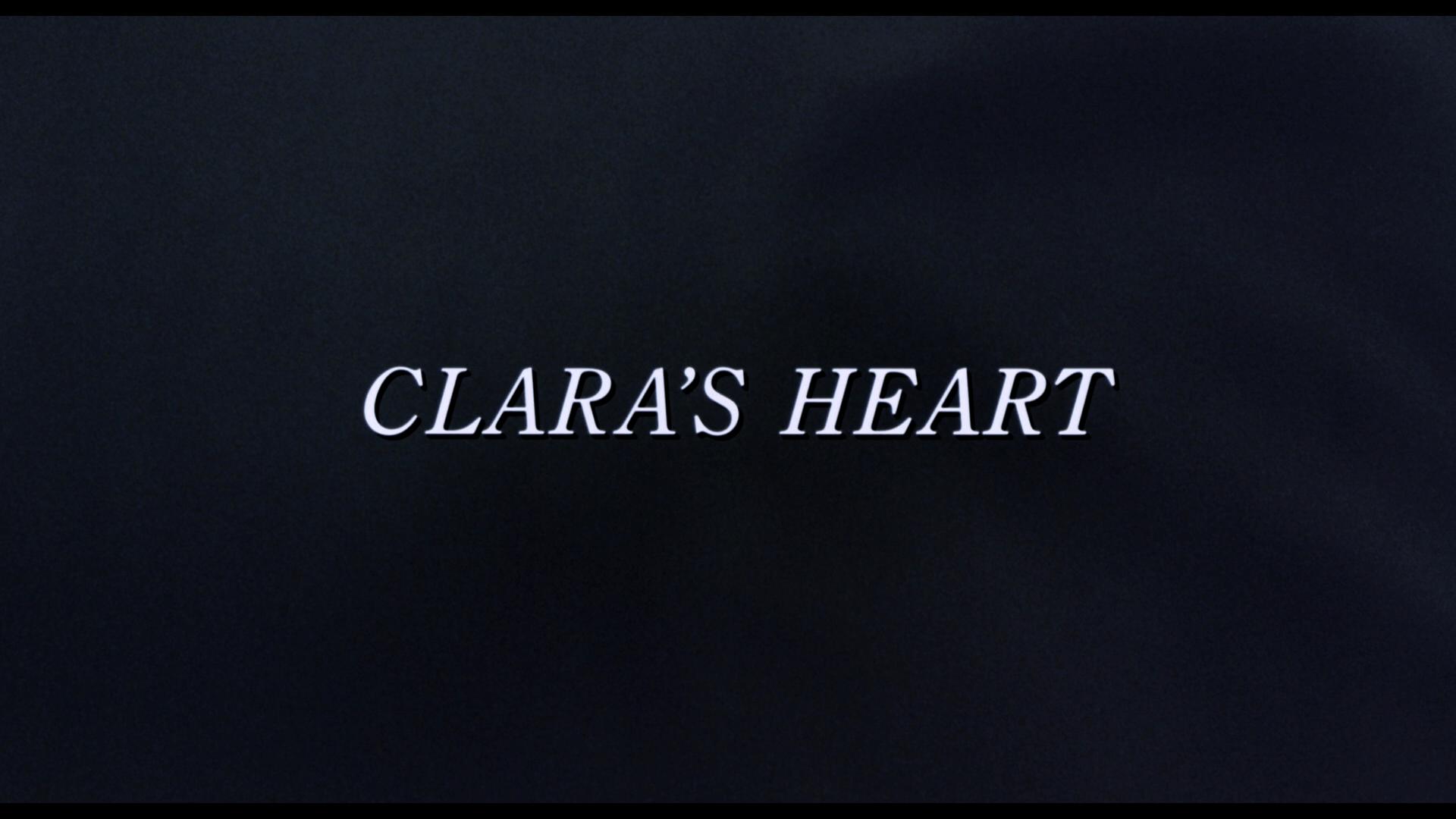 clara's heart title