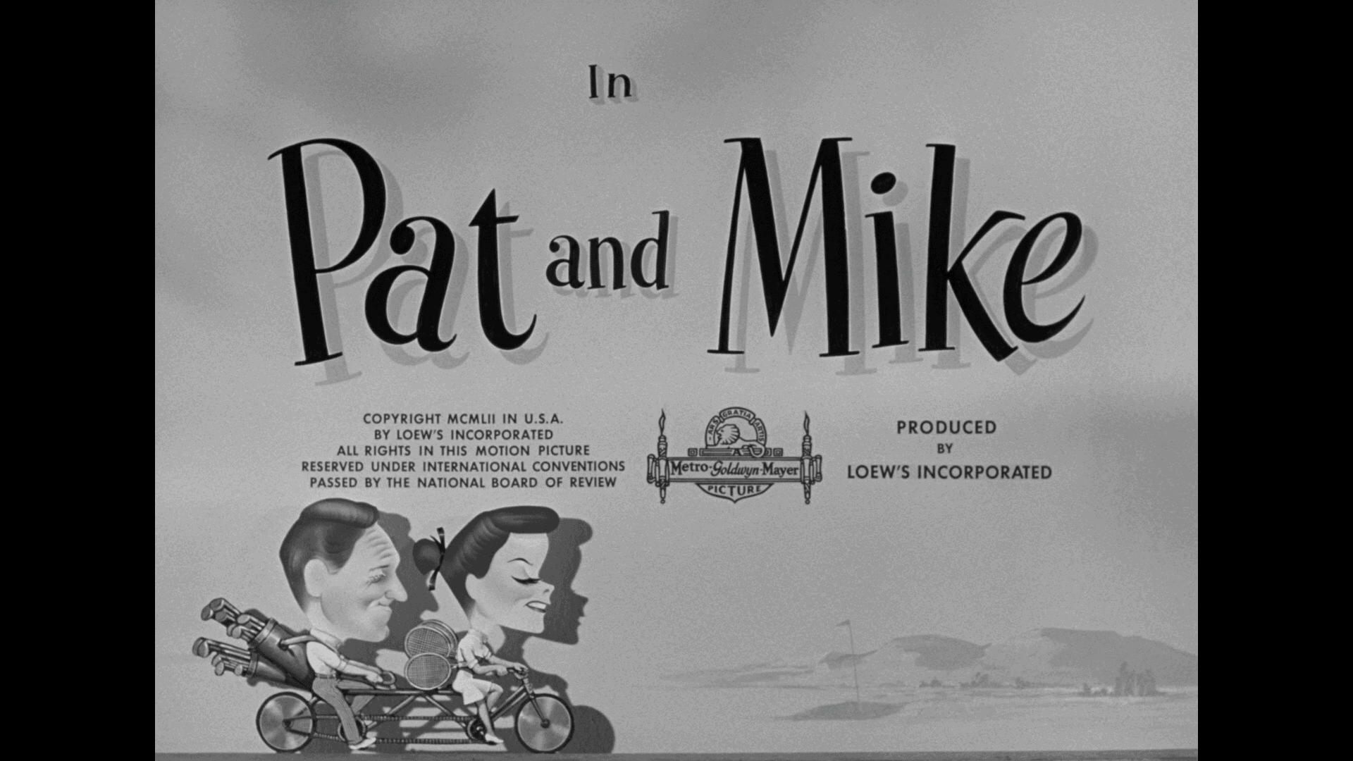 pat and mike warner archive blu-ray title