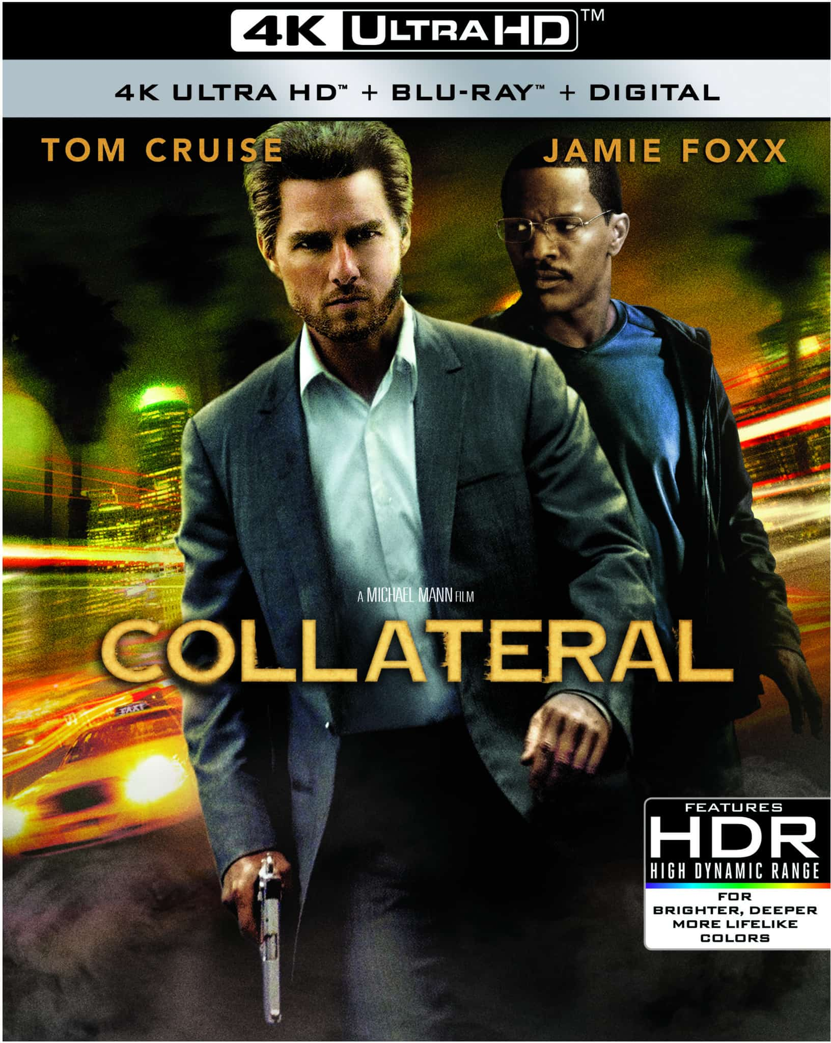 COLLATERAL arrives on 4K Ultra HD December 8th 2