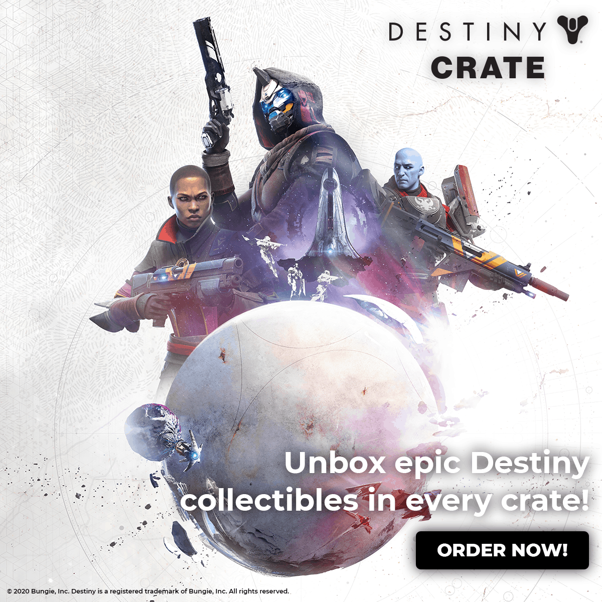 Welcome to Earth with Loot Crate's New Destiny Crate! 2