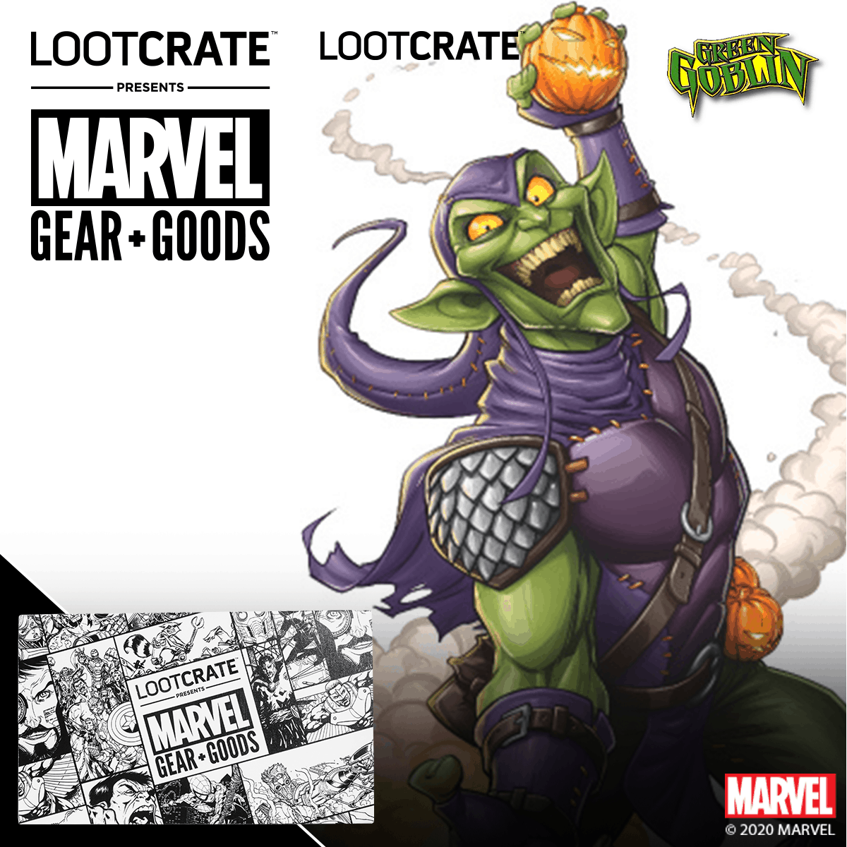 HULK SMASHES NEW MARVEL GEAR & GOODS LOOT CRATE! 2