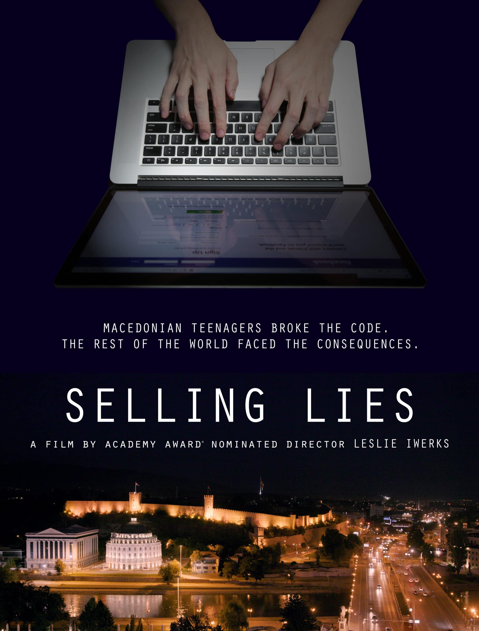 selling lies movie poster