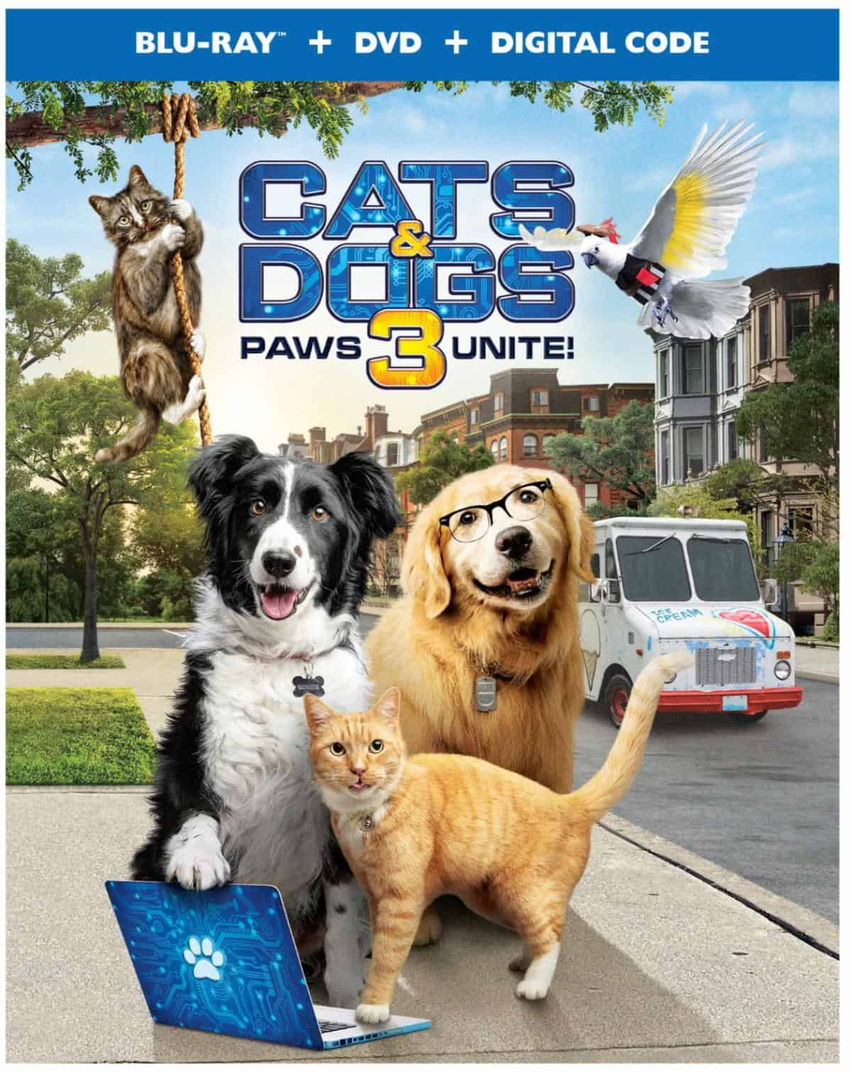 cats and dogs 3 blu ray box cats & dogs 3 paws unite