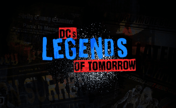 legends of tomorrow season 5 blu ray title card