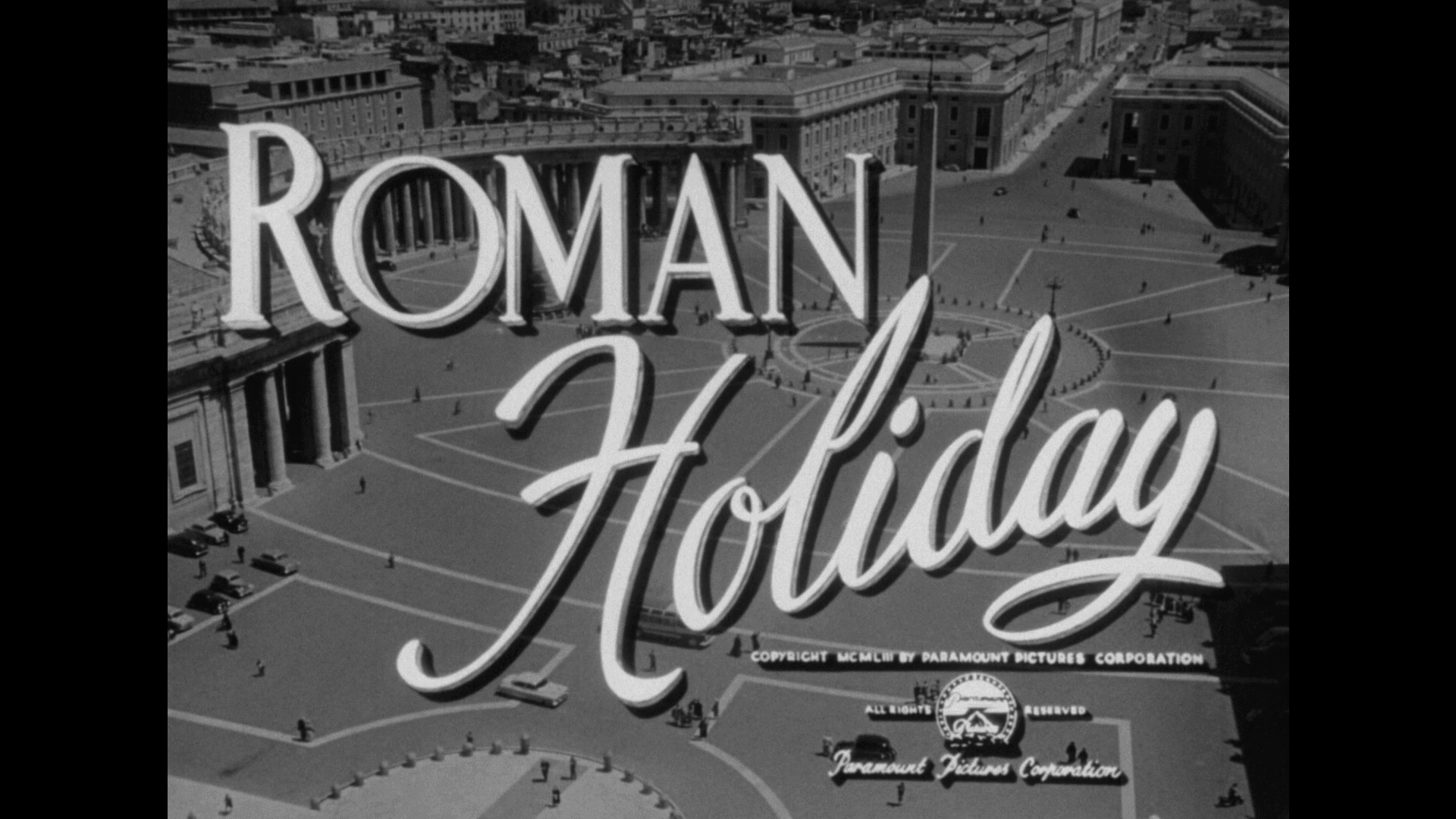roman holiday title