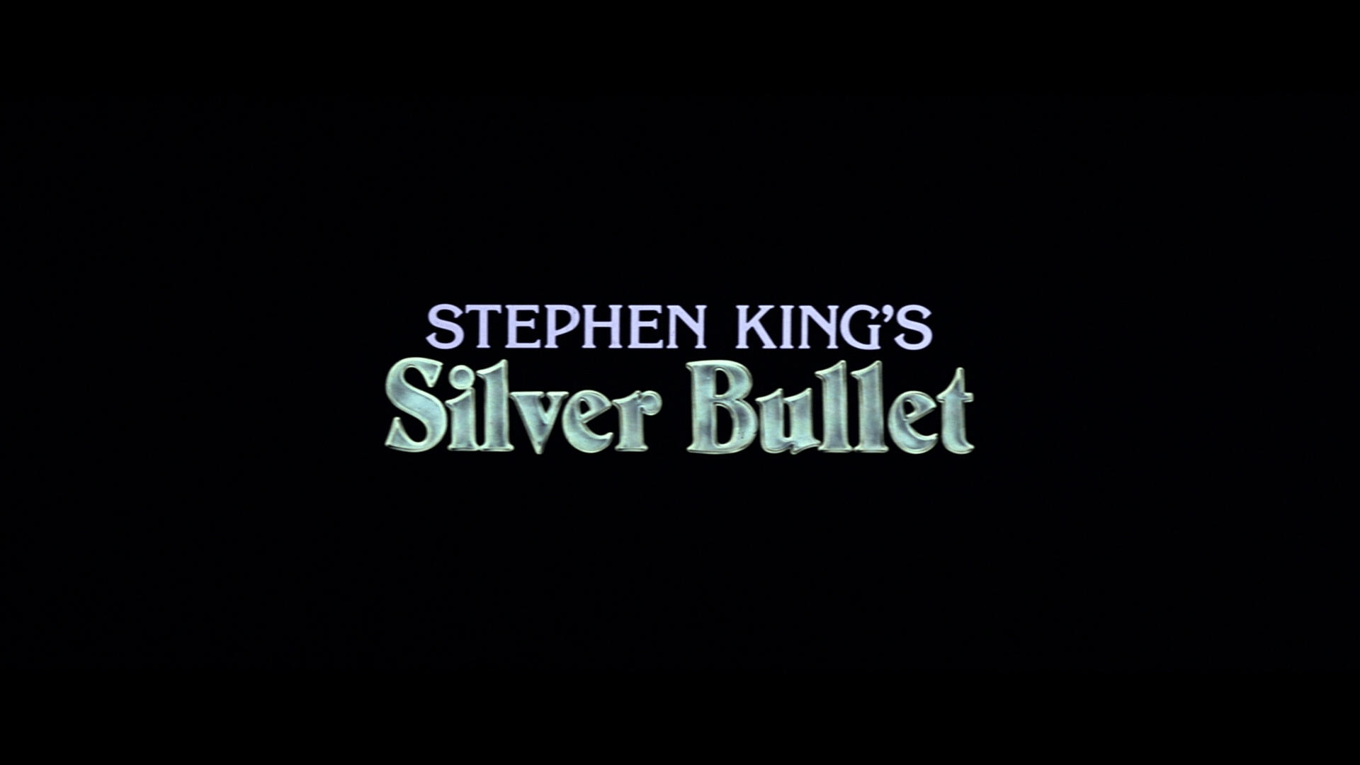 silver bullet title