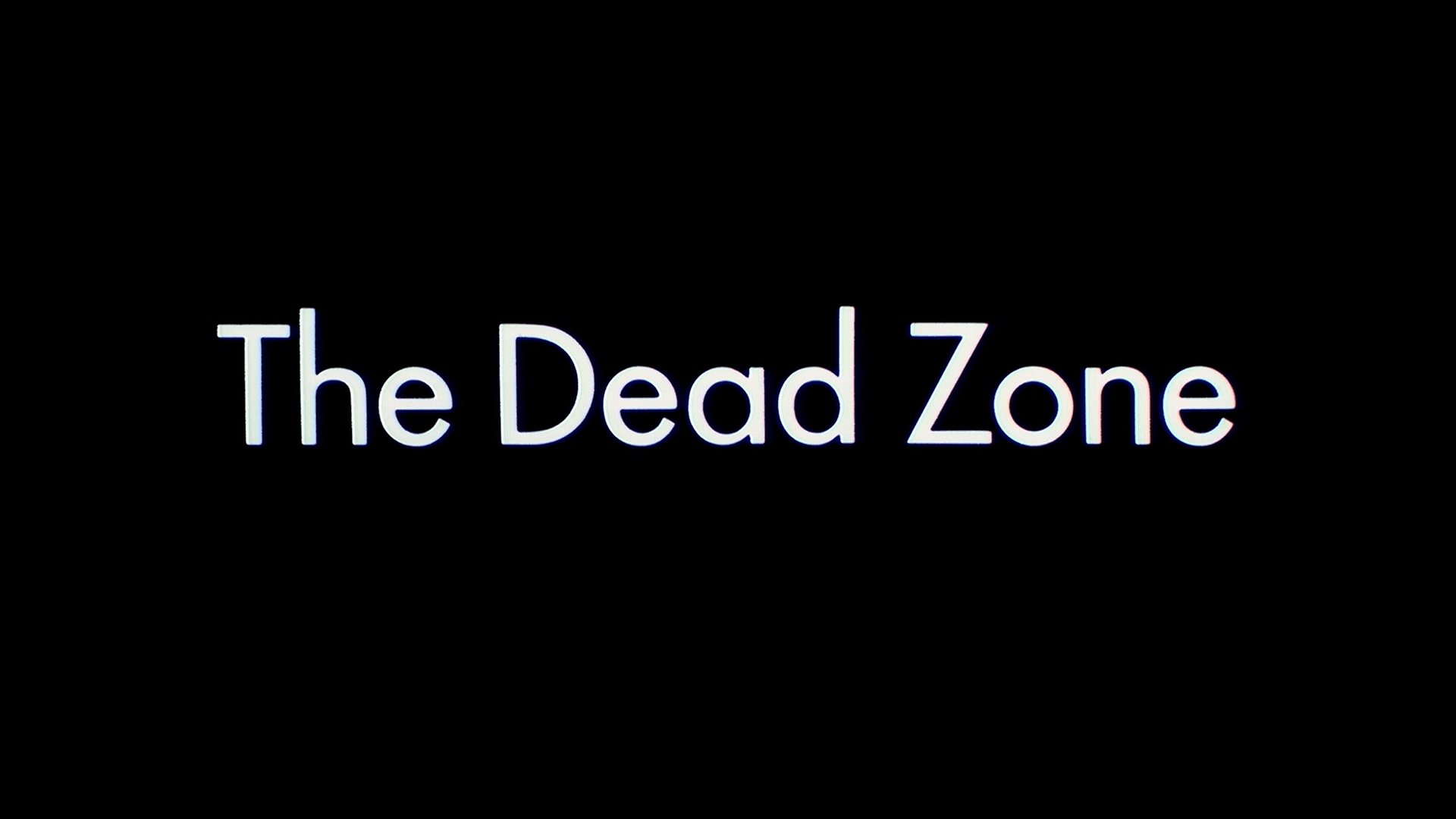 the dead zone title