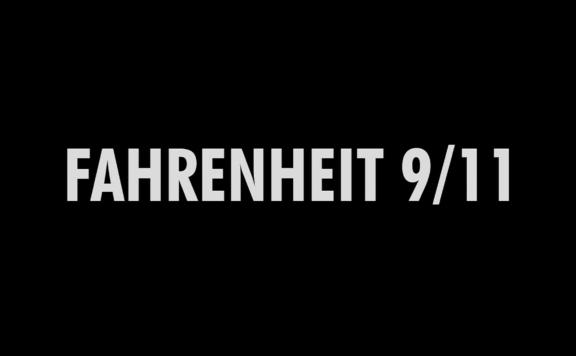 fahrenheit 9/11 title