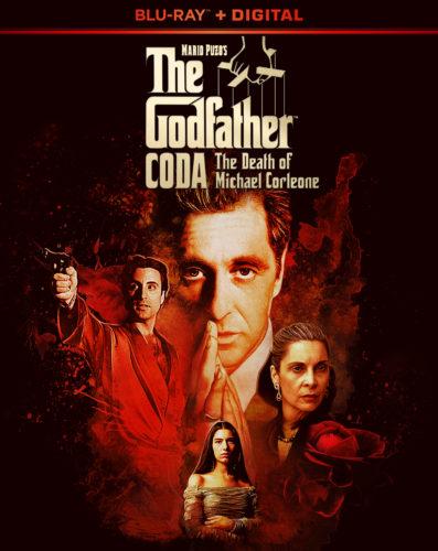 The Godfather Part 3 Coda Mario Puzo Blu-ray