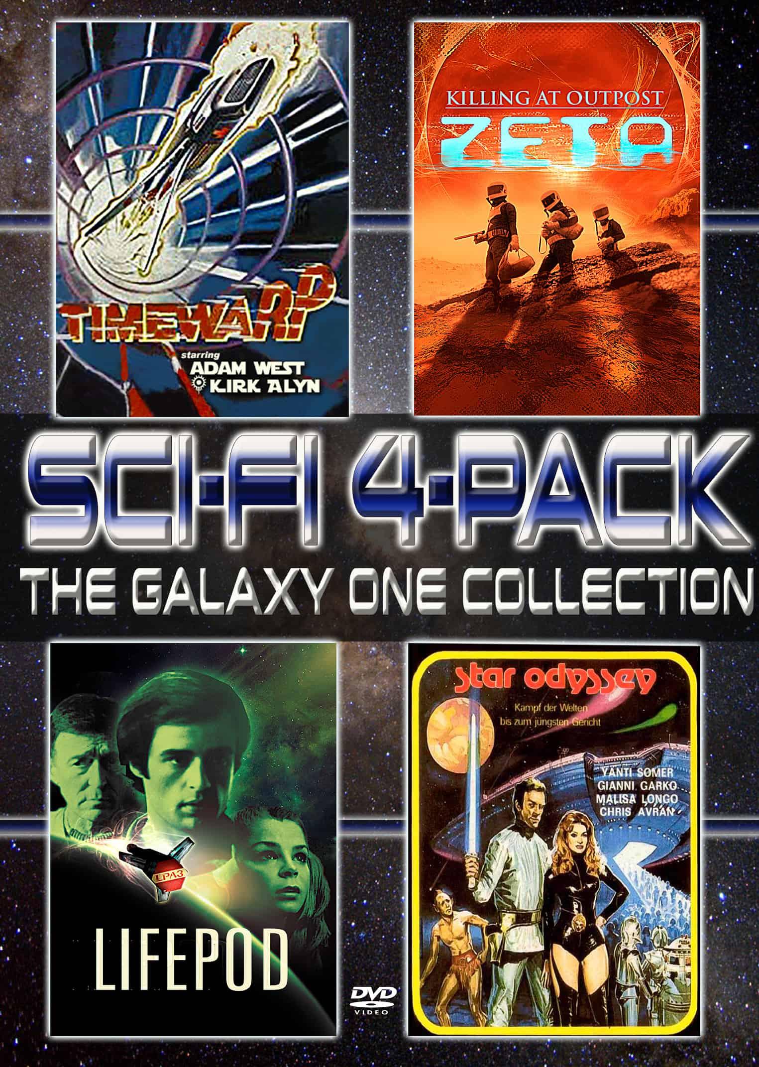 SCI FI 4 PACK DVD MVD