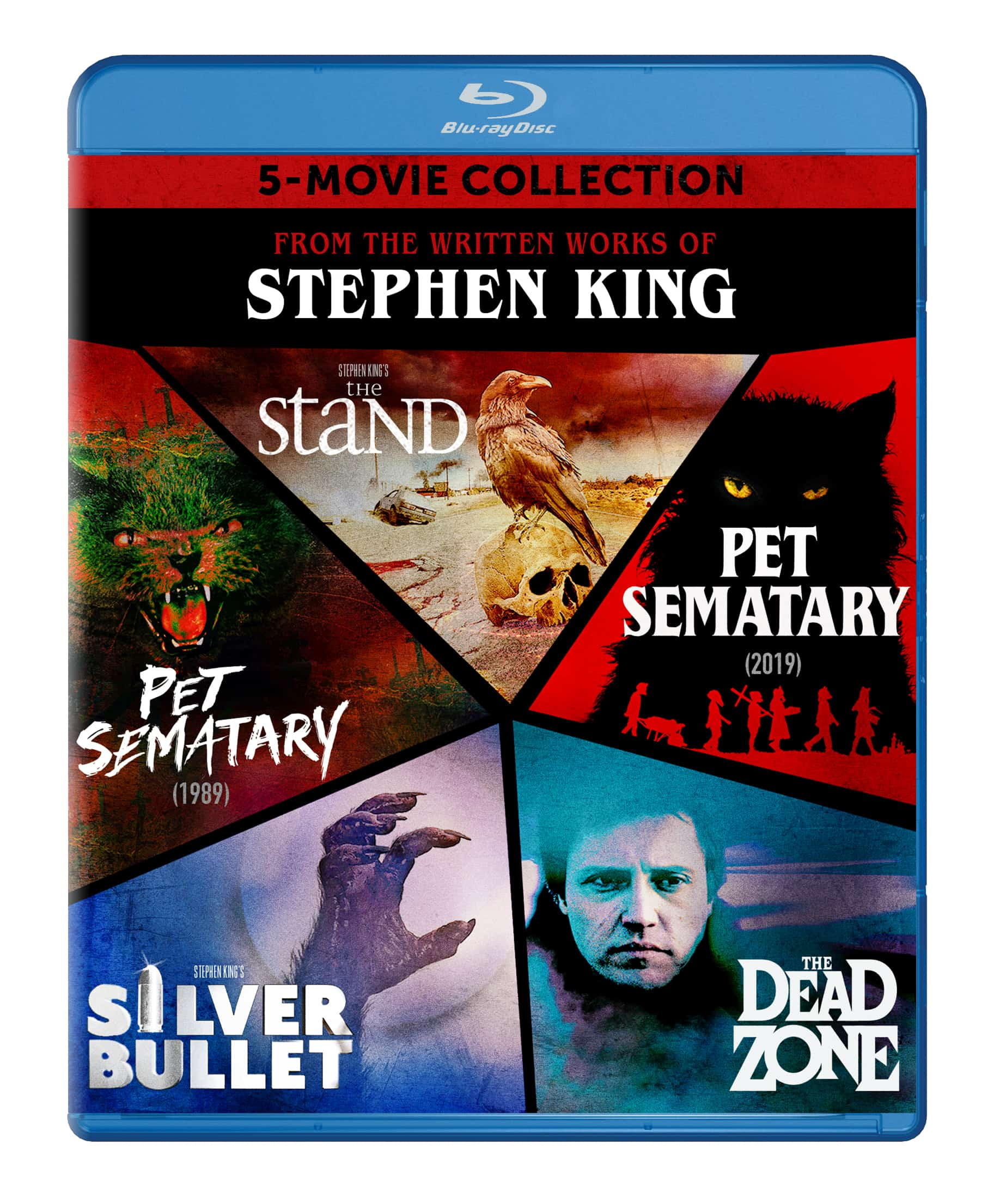 Stephen King The Stand Pet Sematary Blu-ray