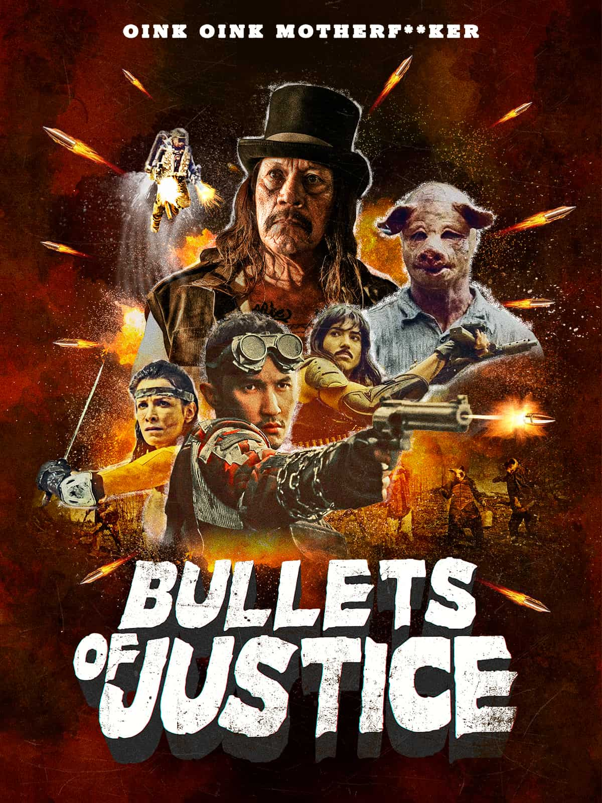 Danny Trejo Battles Mutant Pig-Soldiers in Exploitation Epic BULLETS OF JUSTICE 2