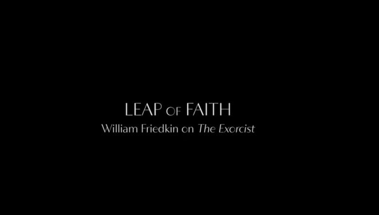 Leap of Faith William Friedkin documentary card